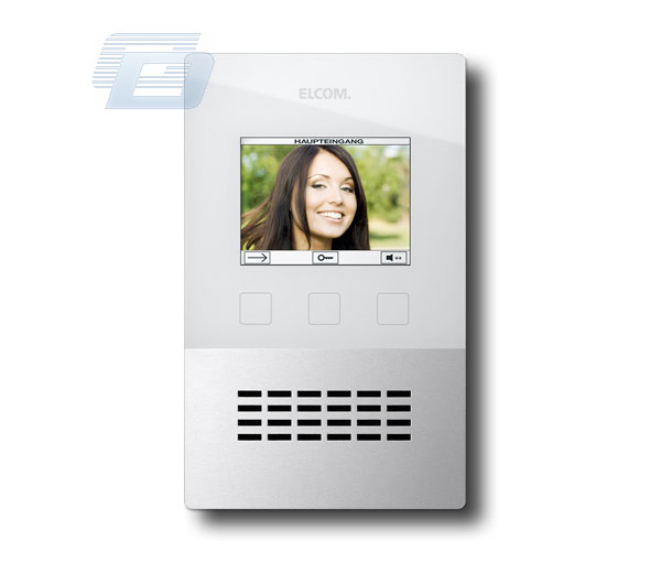 DOMOFONS ELCOM: VIDEO MONITOR BVF260R-WS
