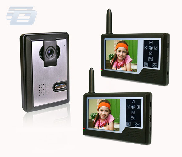 BEZVADU VIDEO DOMOFONS HZ-358MA12DVR