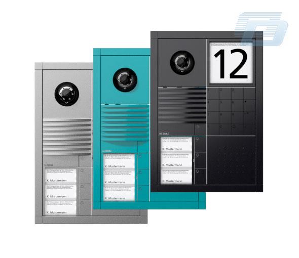 domofonu apraksts d 054541 siedle bfcv850 02eg videomonitor. Black Bedroom Furniture Sets. Home Design Ideas